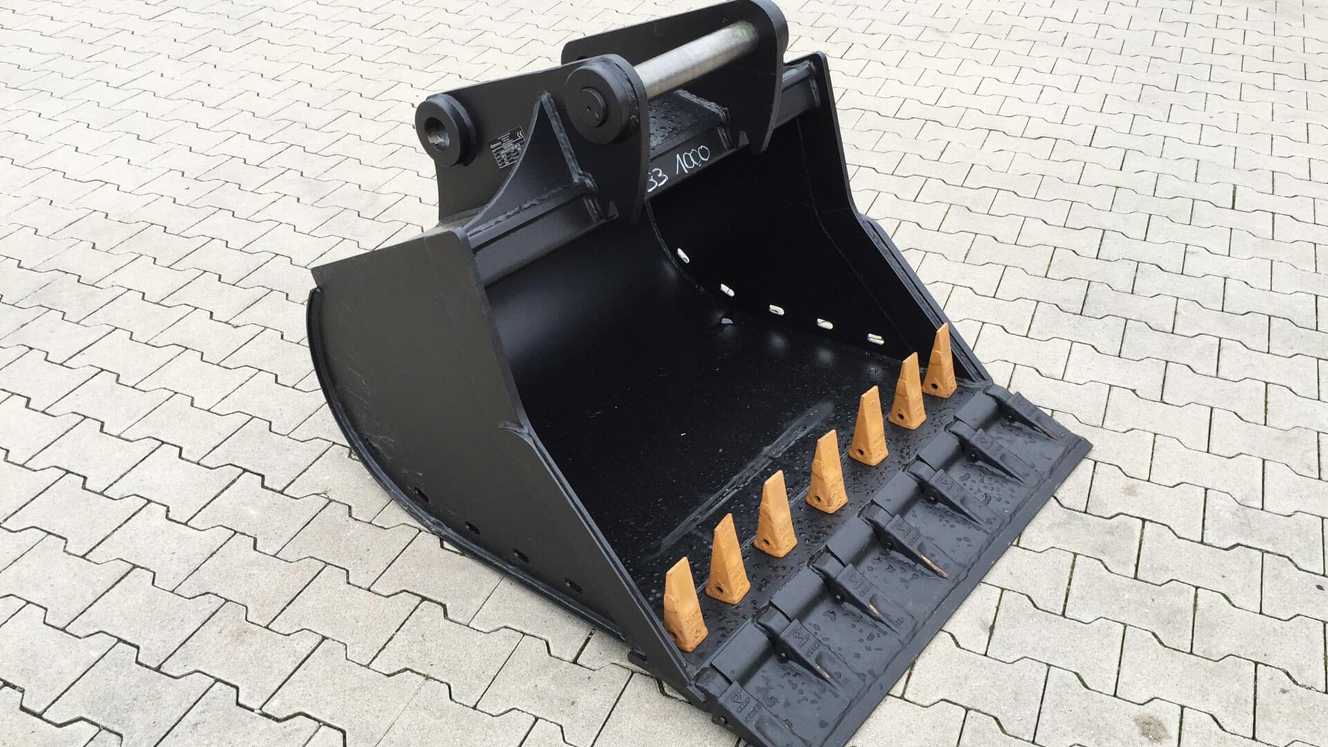 Tiefflöffel-SW33-1000-mm-Vorsteckmesser-Steckzähne