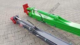 Armverlängerung MS08 mit Schnellwechsler MS03 Paket Zylinder