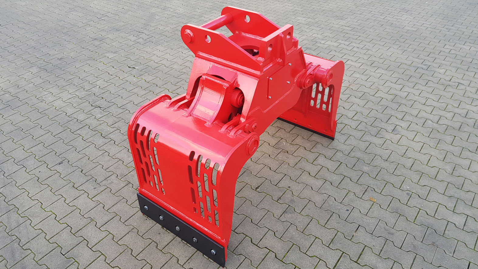 Sortiergreifer MS08 ohne THUMM Rotator rot
