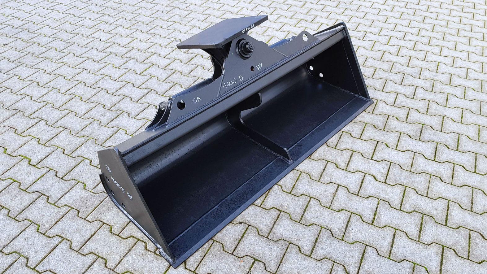 ohne Aufnahme hydraulisch Grabenräumlöffel 1600mm D