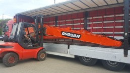 Doosan DX 250 transport 2