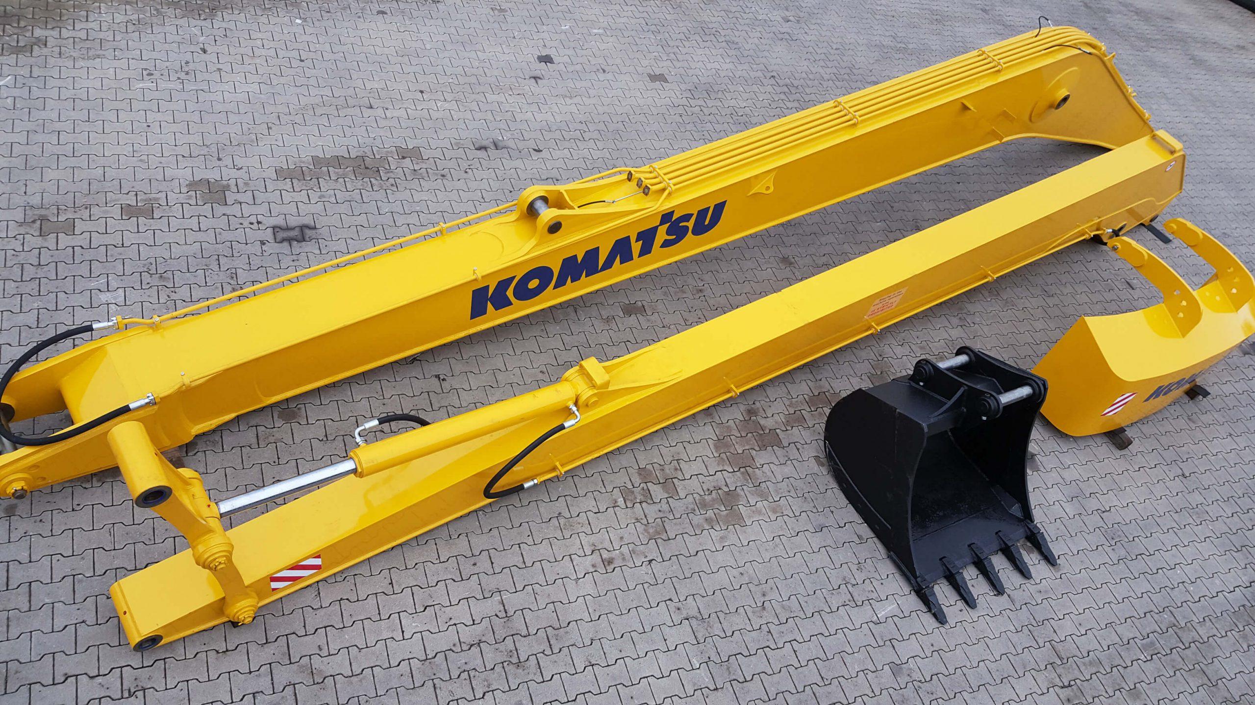 Komatsu PC 450 Long Reach 22m - Loffel - Kontergewicht 2