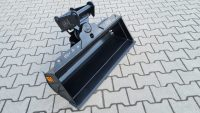 Hydraulischer Grabenräumlöffel passend für Lehnhoff MS01 SY 1000 mm