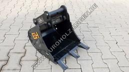 Tieflöffel MS01 SY 400 mm symlock Symlock Bagger Löffel Schaufel eh EH Euroholz 40 cm lehnhoff