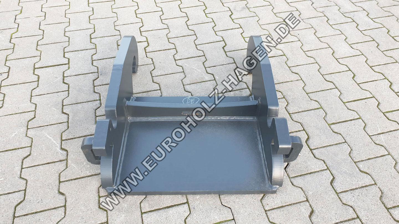 Anschweißrahmen CW20 CW30 CW40 verachtert CW eh EH Euroholz Adapterplatte Anschweißplatte Adapter Platte Schnellwechsler Kopfplatte Bagger excavator Grundplatte