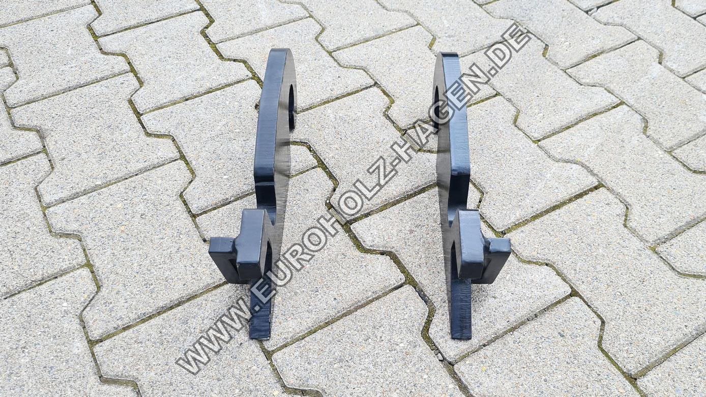 Anschweißrahmen CW05 ohne Boden Adapter Rahmen Anschweißplatte Platte eh euroholz
