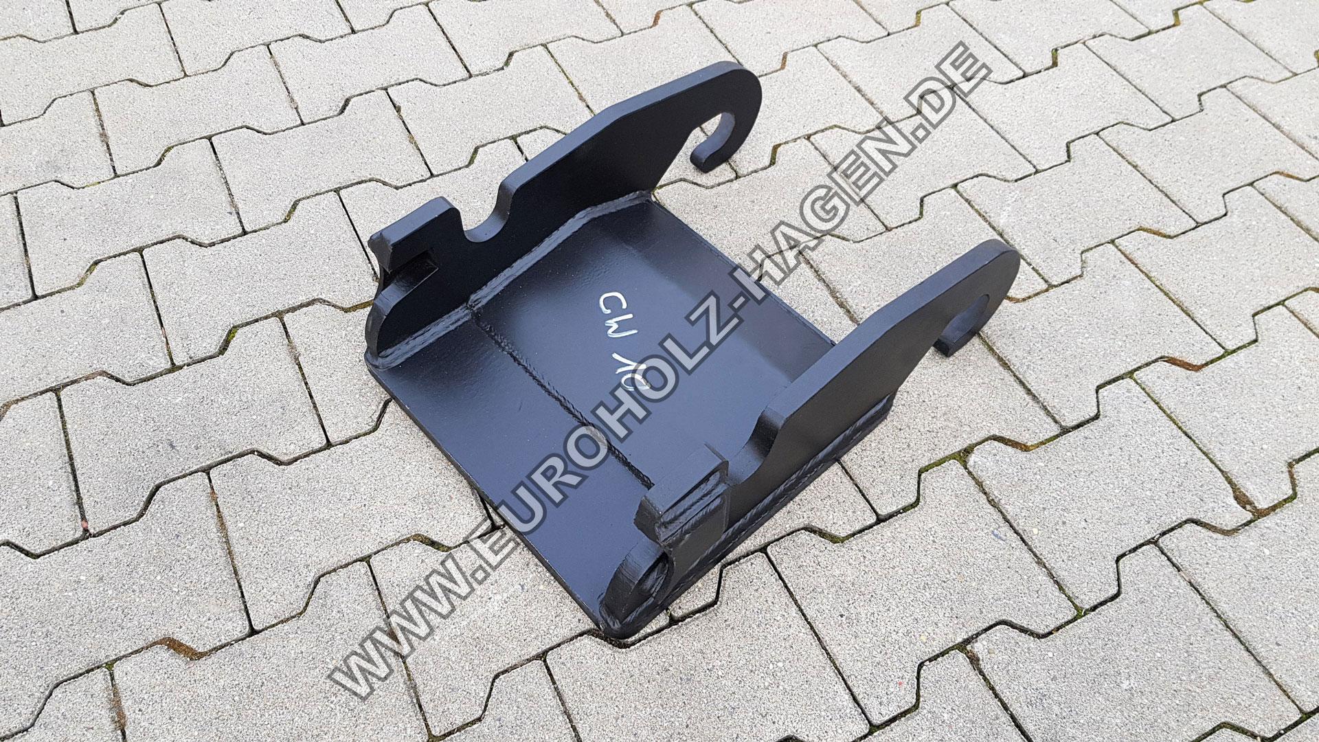 Anschweißrahmen passend für CW10 mit Boden / Grundplatte EH