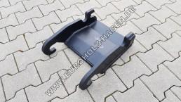 Anschweißrahmen CW 10 mit Boden / Grundplatte