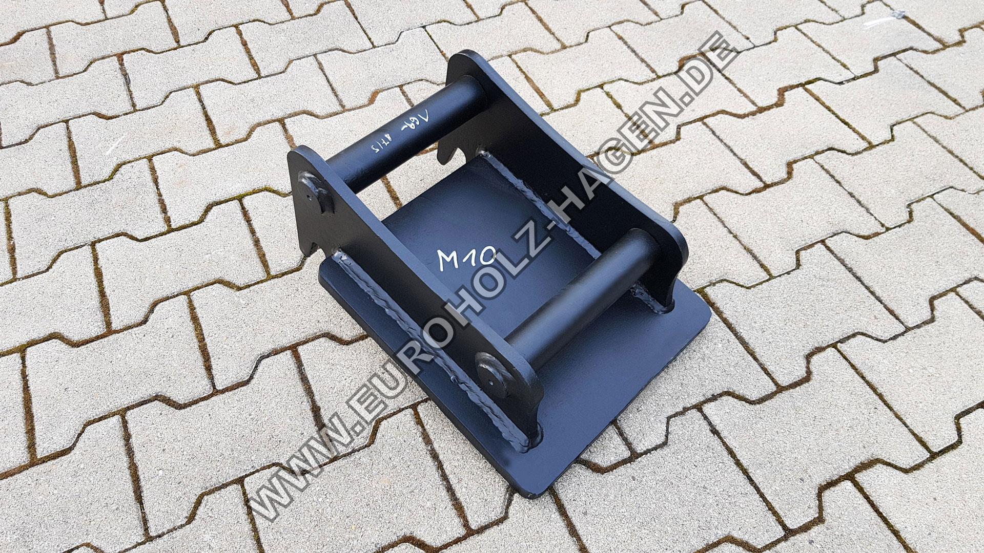 M10/Platz unbeschichtetes U Schrauben f/ür Boot-Anh/änger 60/mm Breite x 100/mm L/änge
