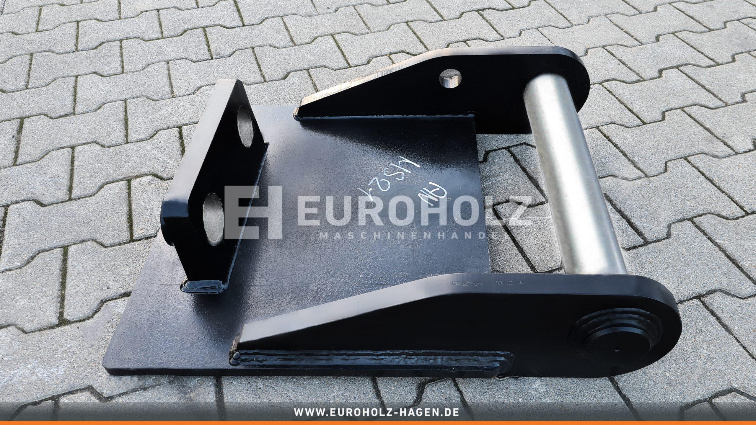 EH Anschweißrahmen mit Grundplatte passend für Lehnhoff MS21 MS25
