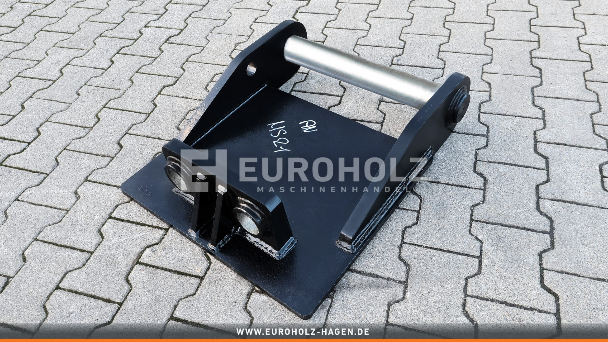 EH Welded adapter with baseplate suitable for Lehnhoff MS21 / MS25