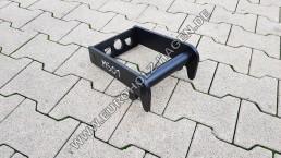Anschweißrahmen MS01 ohne Boden Adapter Rahmen Anschweißplatte Platte