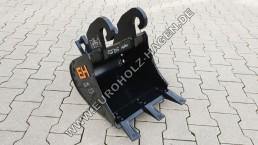 Tieflöffel CW05 400 mm Bagger Löffel Tief Schaufel CW 05 40 cm