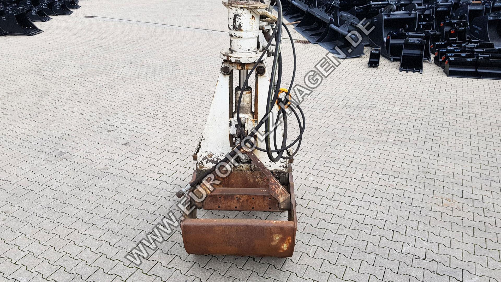 Zweischalengreifer 60 120 mm Greifer Schalen Ladegreifer Aushubgreifer