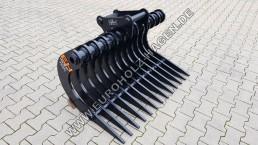 Harke MS03 SY 1200 mm Roderechen Rechen Wurzelrechen