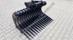 Harke MS08 SY 1400 mm Roderechen Wurzelrechen Rechen Symlock