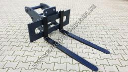 Palettengabel Gabel MS10 1200 mm Radlader Volvo Frontlader Gabelträger Gabelzinken pallet fork