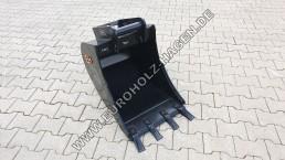 Tieflöffel MS03 500 mm Sonderposten ohne Wasserablauflöcher Restposten Bagger Schaufel