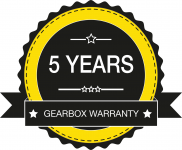Digga 5 years gearbox warranty