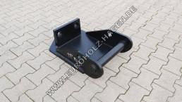 Hammerplatte MS10 Lehnhoff Hammerplatten Löffel Bagger Platte CW mit Boden EH eh Euroholz