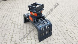 Sortiergreifer MS08 Greifer Sortier Abbruch mit hydraulischem Drehkranz Rotator hydraulisch soting grale Lehnhoff lehnhoff ms