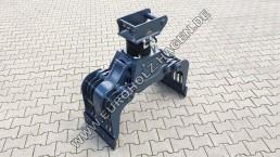 Abbruchgreifer MS03 mit Thumm Rotator 605H THUMM 605 H eh Euroholz Abbruch Greifer Sortier