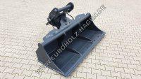 hydraulischer Grabenräumlöffel MS21 MS25 2000 mm mit wenbarem Unterschraubmesser