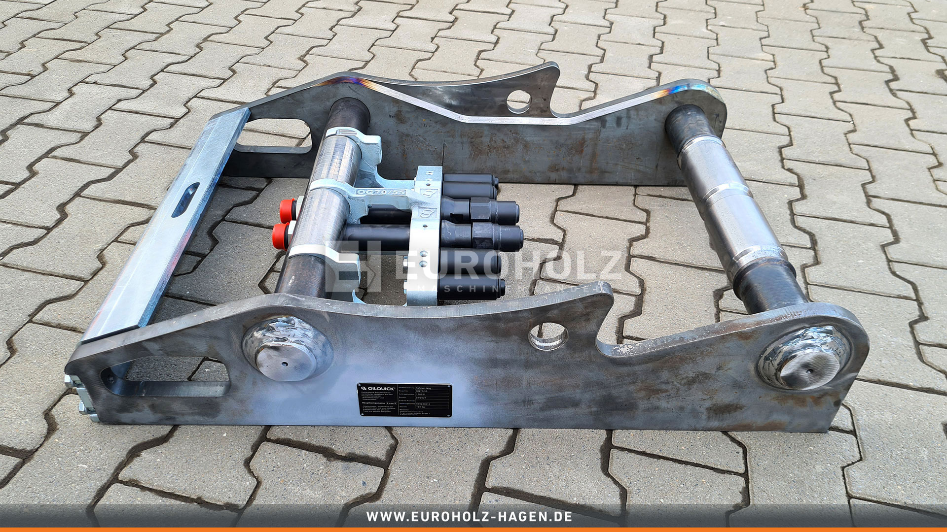 Special adapter OilQuick OQ70/55/ with clutch kit