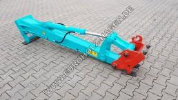 Armverlängerung MS08 2000 mm auff Schnellwechsler MS08 Lehnhoff Stielverlängerung Verlängerungsarm Verlängerung Bagger Arm