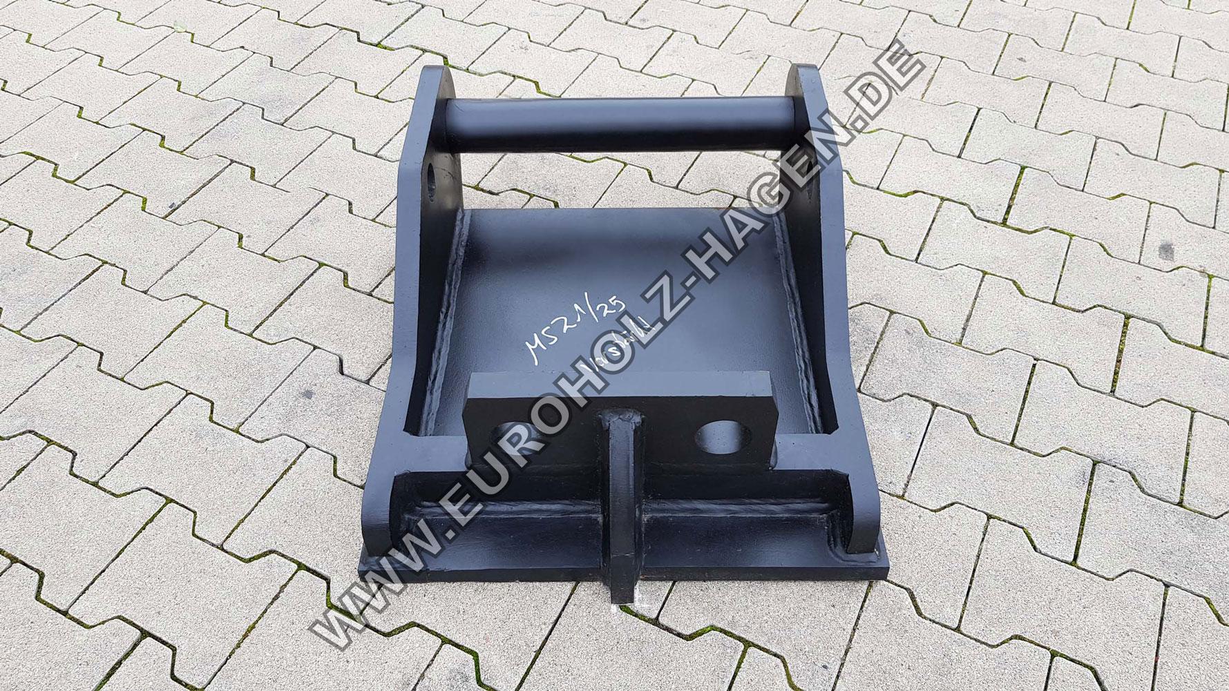 Hammerplatte MS21 MS25 Lehnhoff MS Adapter Platte Bagger Löffel
