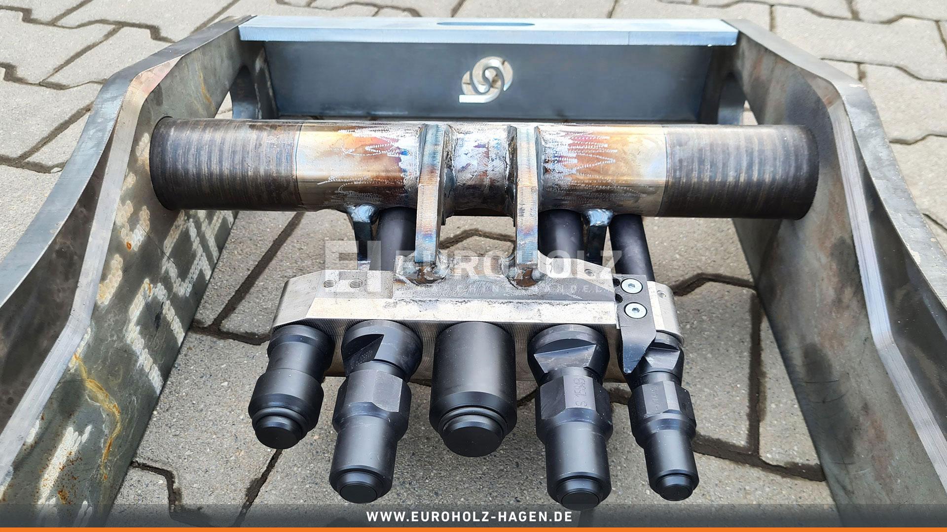 Spezialadapter OilQuick OQ65 Lang / mit Kupplungssatz