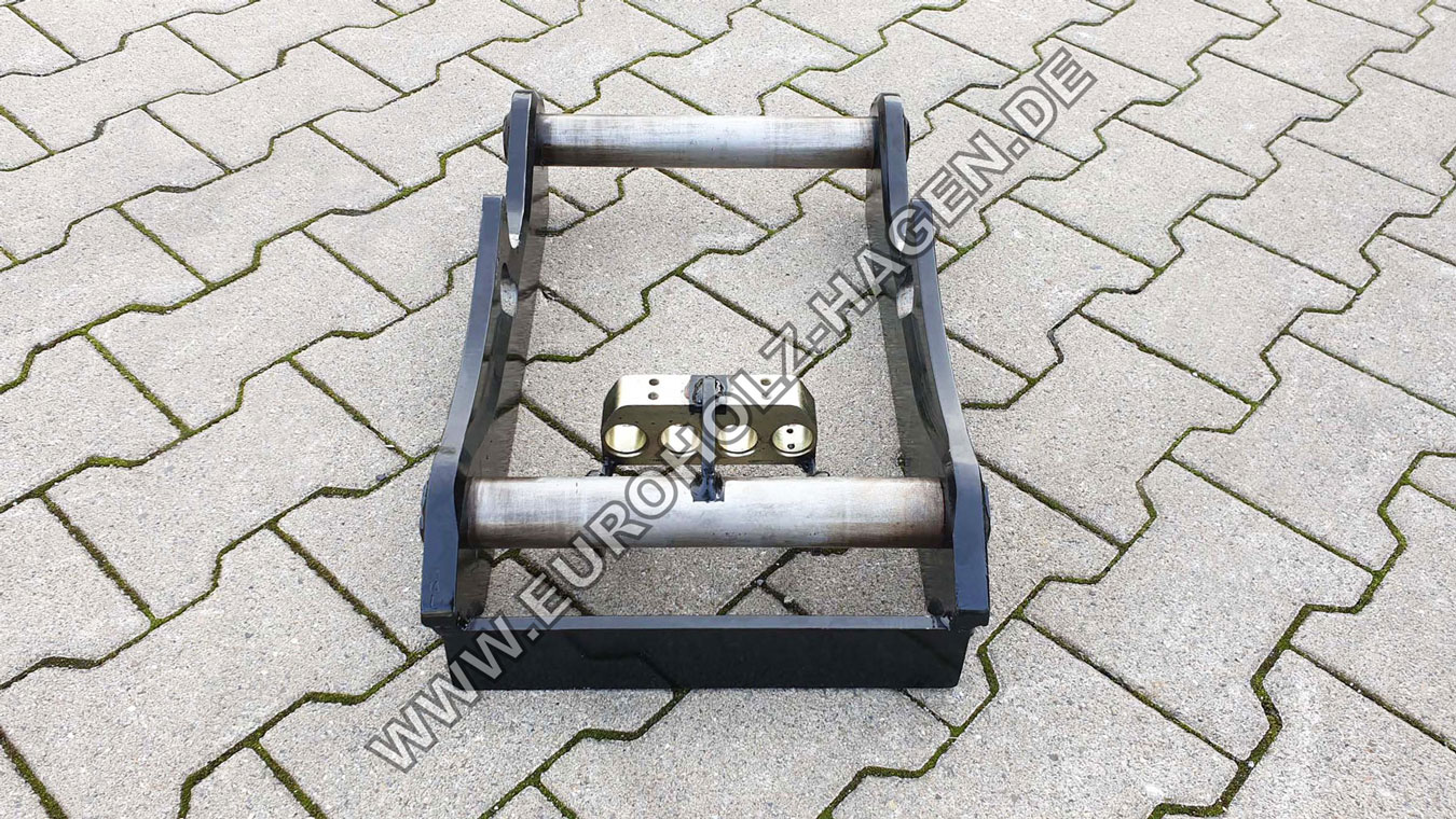 Hydraulic adapter suitable for OilQuick OQ45-4 / with coupling ramp