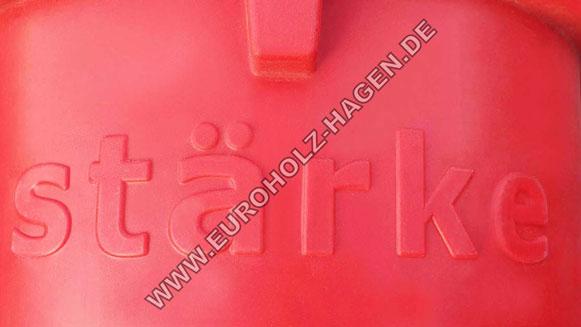 Schuttrutsche rot verstärkt ANDI 10 Meter Bauschutt Schutttrichter Trichter