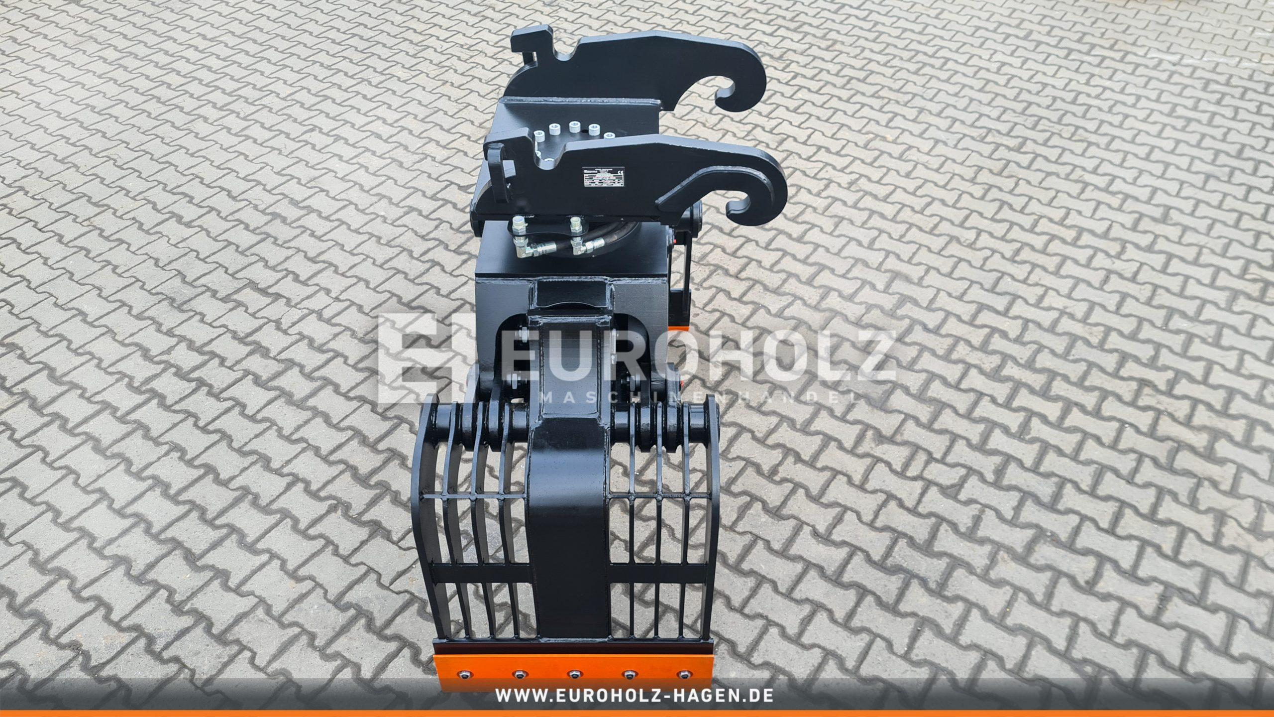 EH Abbruchgreifer mit Rotator Thumm 615H passend für Verachtert CW20 / Kat. 1G