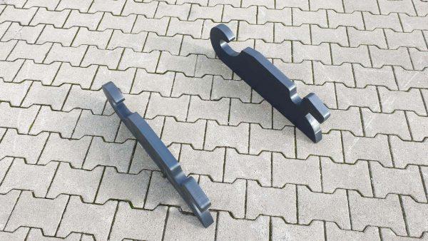 Hammerplatte CW20 CW30 CW40 passend Verachtert eh Eh EH Euroholz Lehnhoff Adater Platte Anschweißpaltte Adapterrahmen Adapter Rahmen ohne Boden Umbauplatte Hammer Plates Conversion Plate Adapters adapter plates