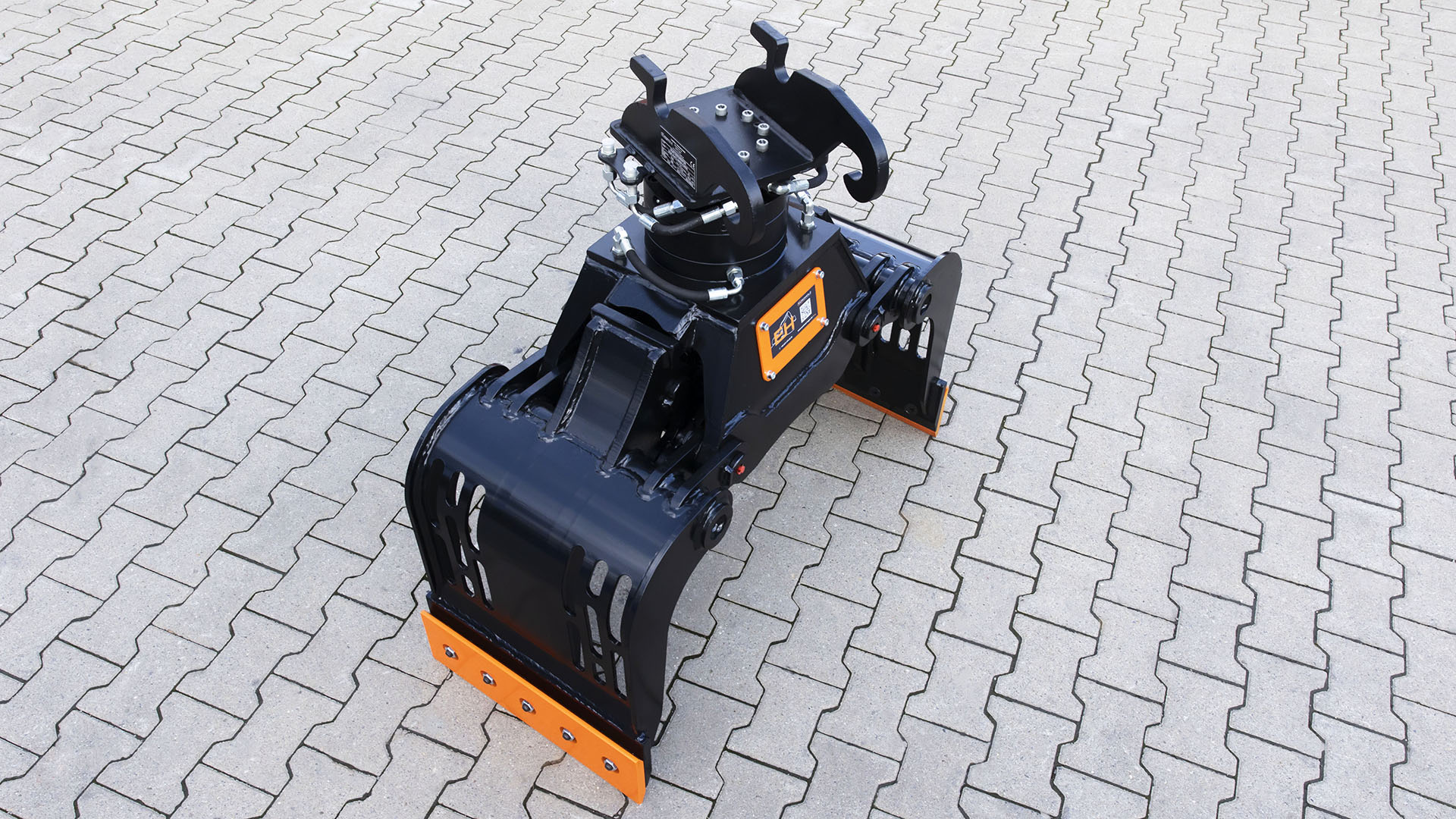 Sorting grab with the rotating system THUMM 605H suitable for Verachtert CW05 / cat. 2K