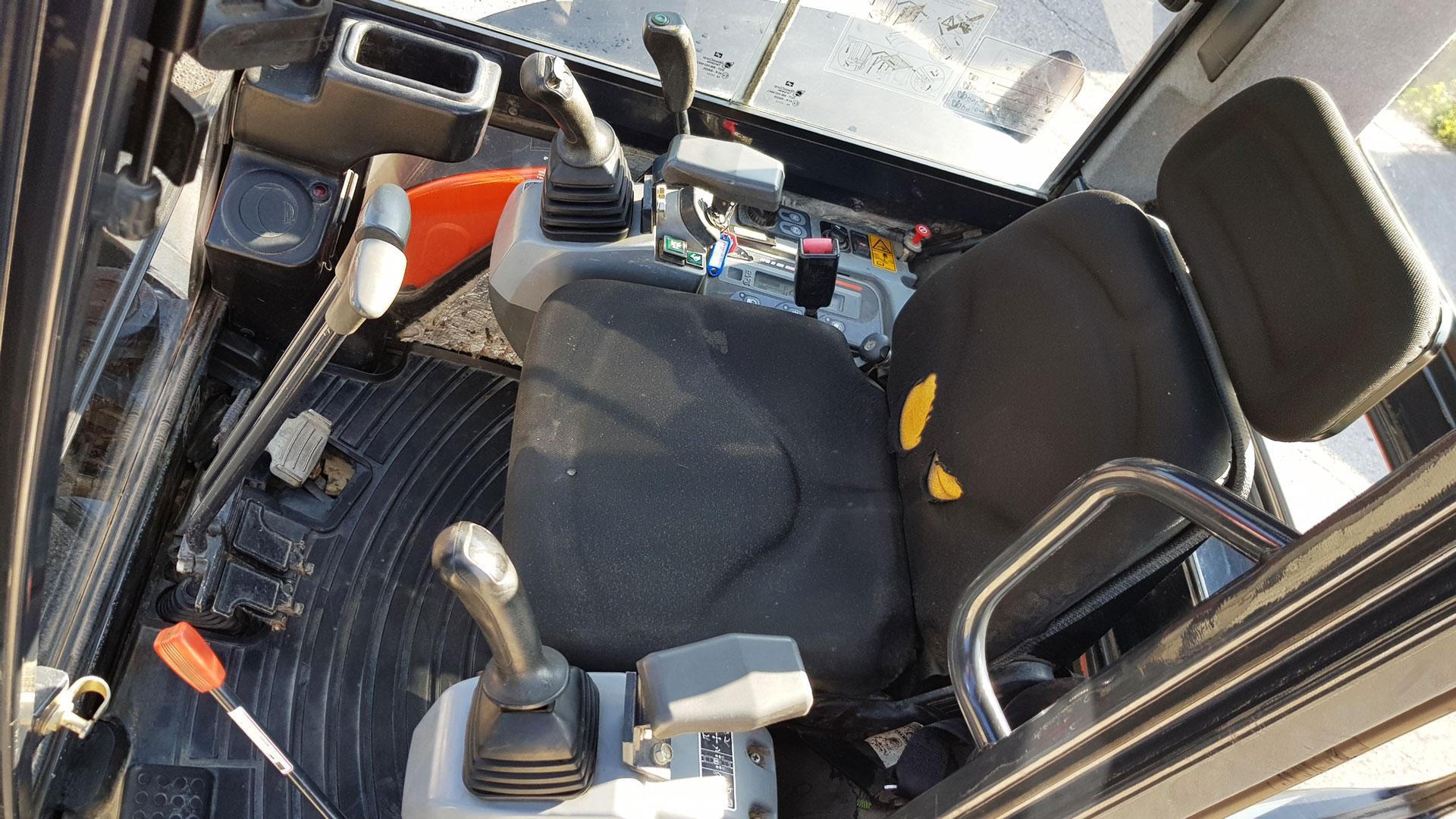 Minibagger Kubota U35 mit SW03