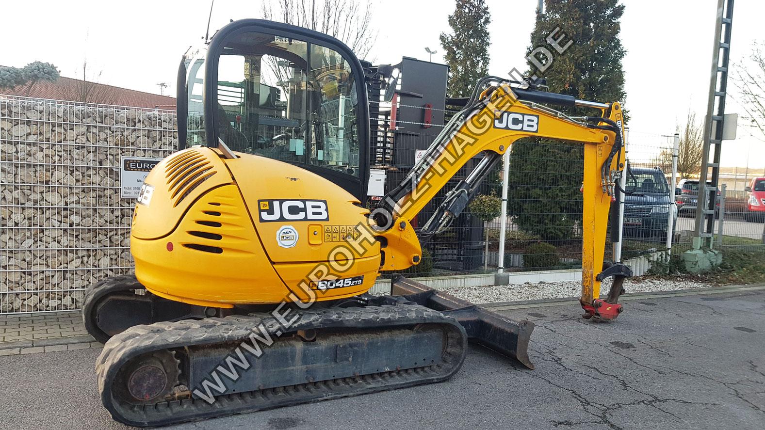 Minibagger JCB 8045 mit SW03