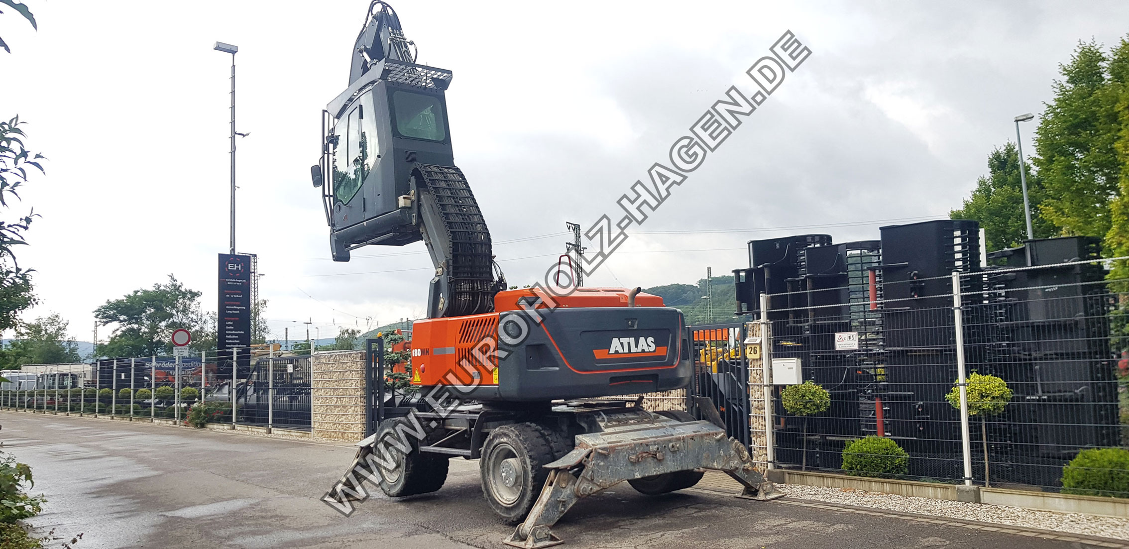 Umschlagbagger Atlas 180MH
