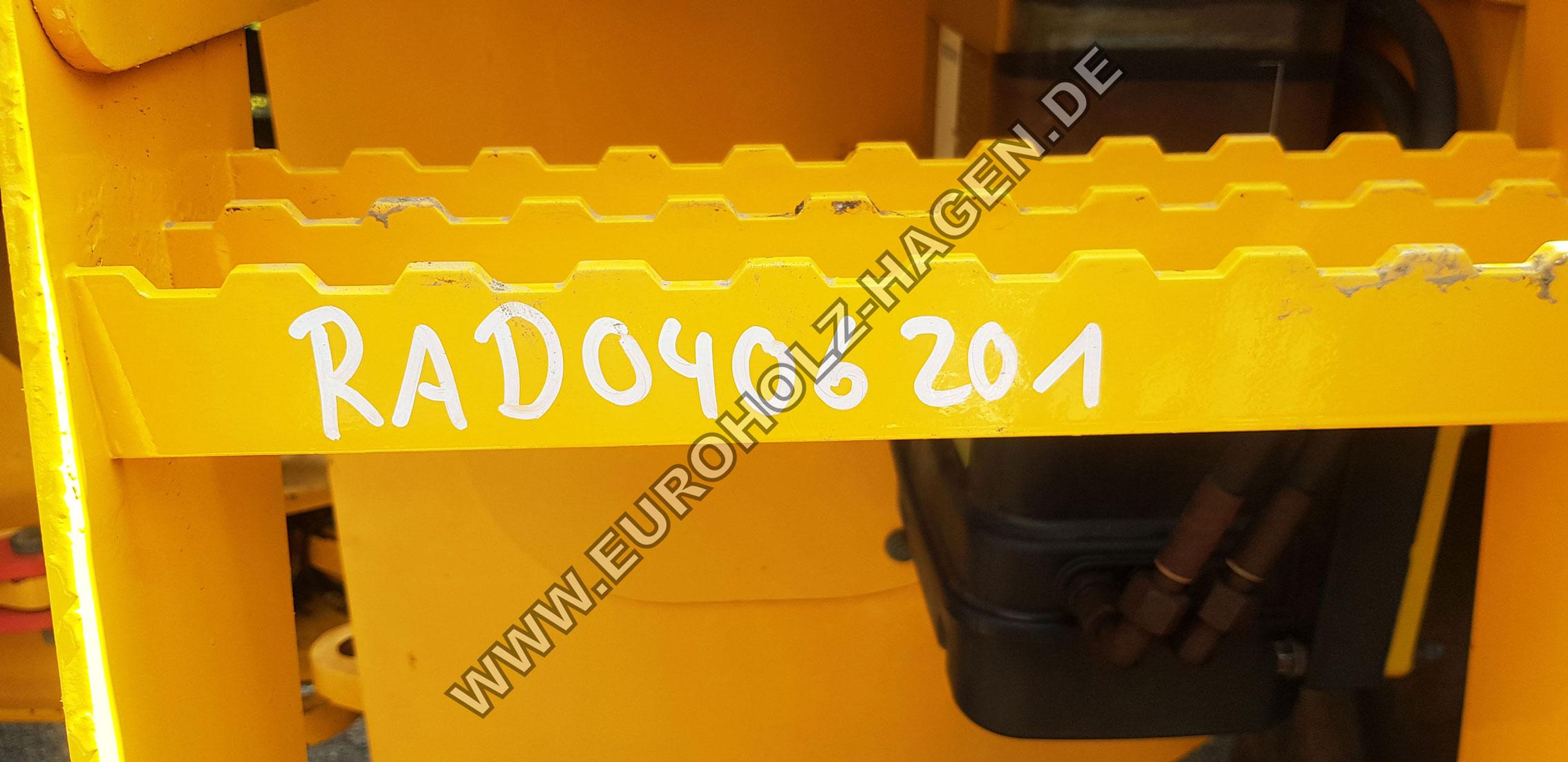 Radlader Volvo L 120 C mit neuer Schaufel