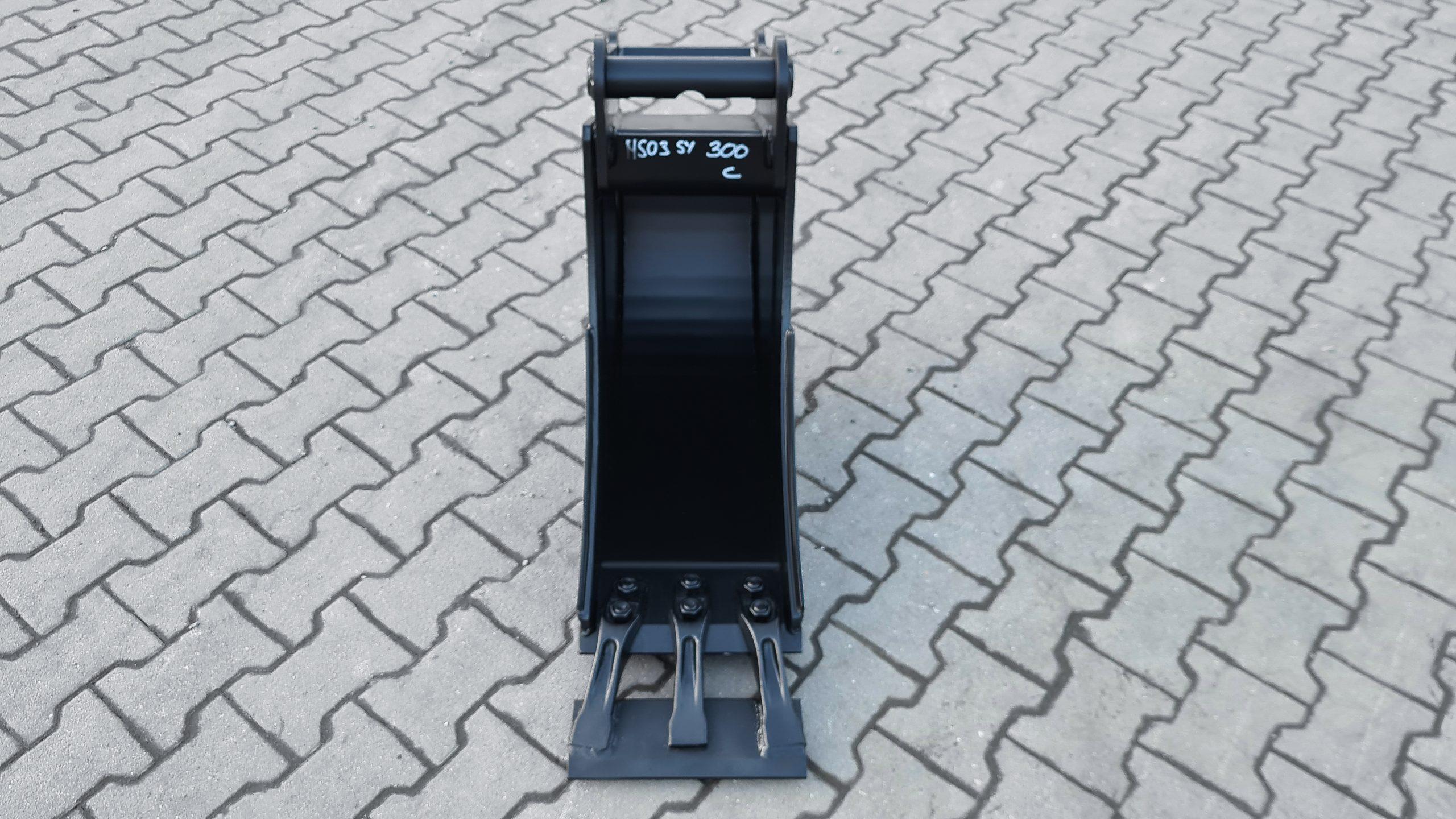 Tieflöffel mit Aufsteckmesser passend für Lehnhoff MS03 SY 300 mm C EH