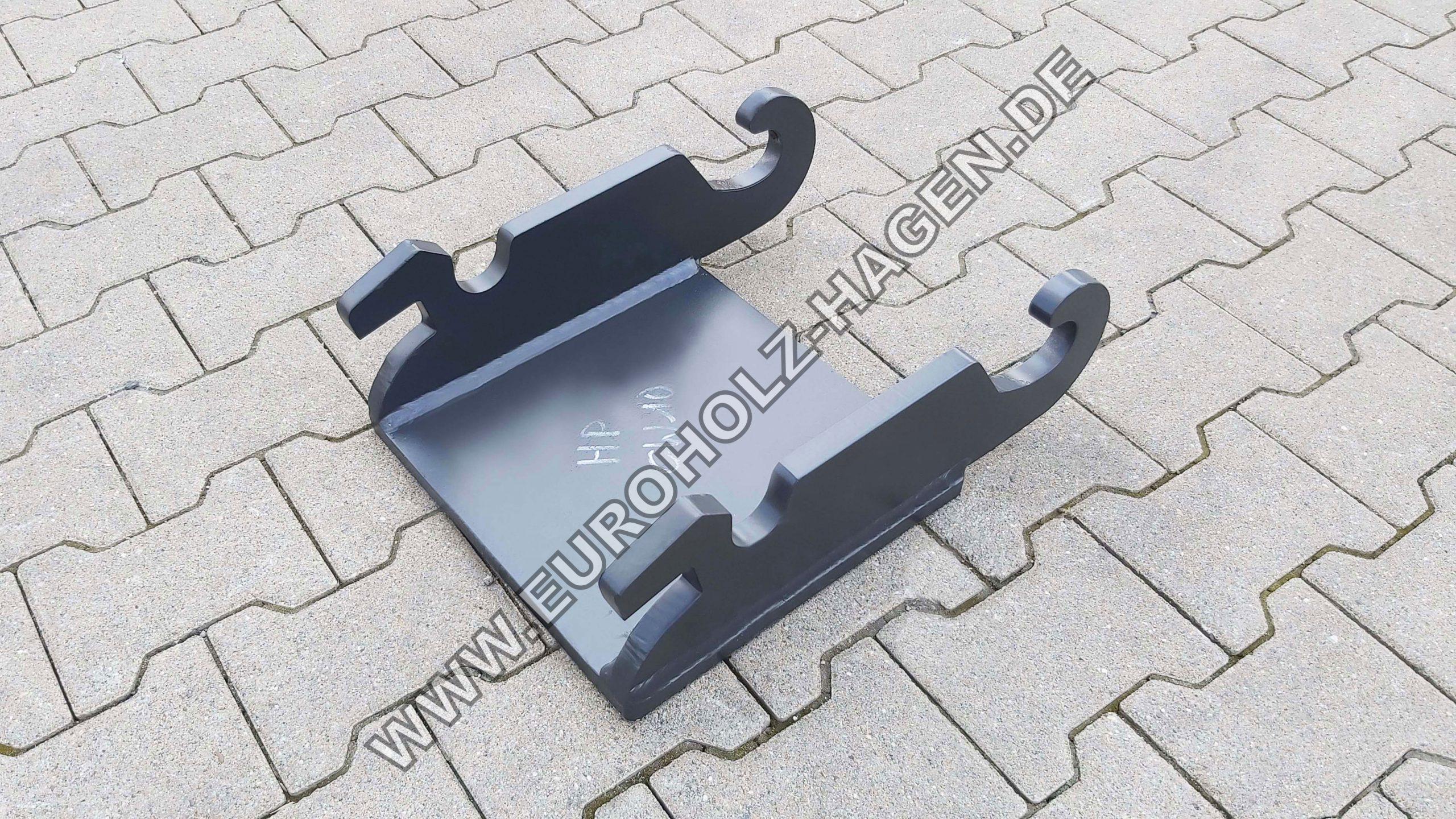 Hammerplatte CW10 mit Boden Adapterplatte Anschweißrahmen