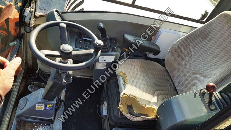 Mobilbagger Terex TW 85 Schaeff HML 32 mit Tieflöffel 1100 mm
