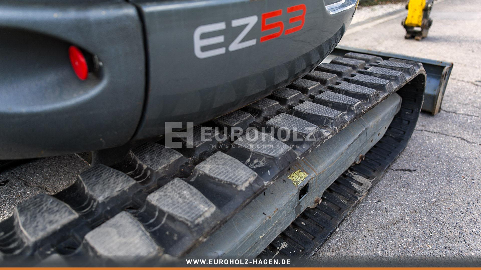 Minibagger Wacker Neuson EZ53 nur 1375 Std. mit MS03