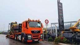 Neue gebrauchte Maschine frisch eingetroffen - Mobilbagger Volvo EW160D