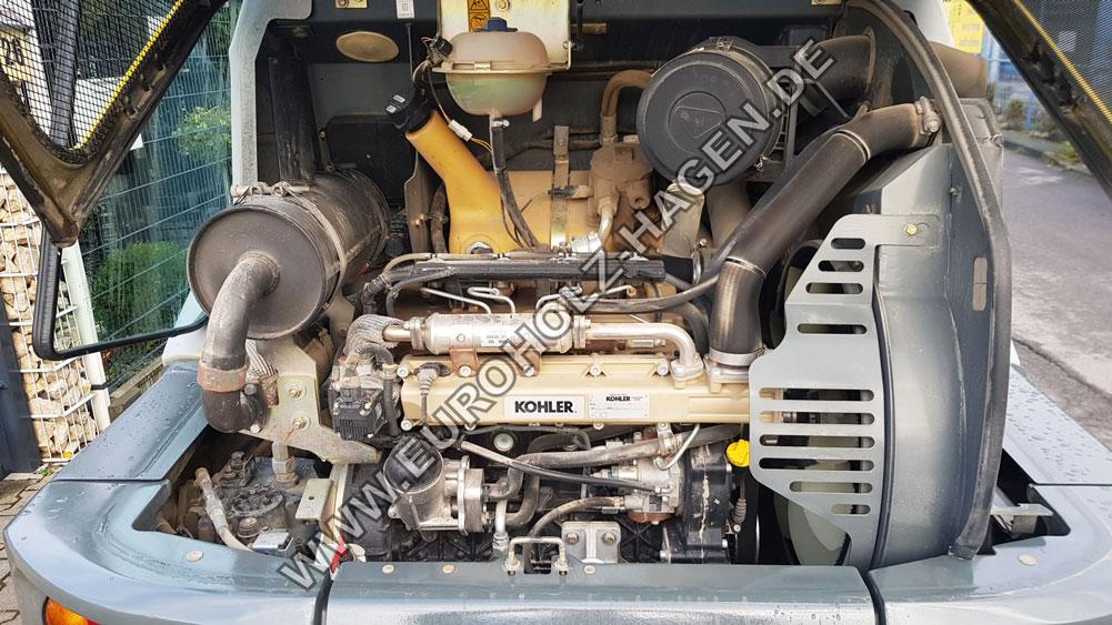 Radlader Kramer 5095 mit hydr. Schnellwechsler und Schaufel 1 cbm