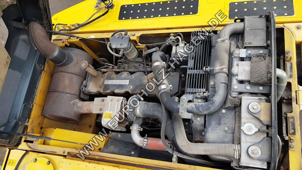 Kettenbagger Komatsu Pc 210 LC -8 SW Verstellausleger Klima