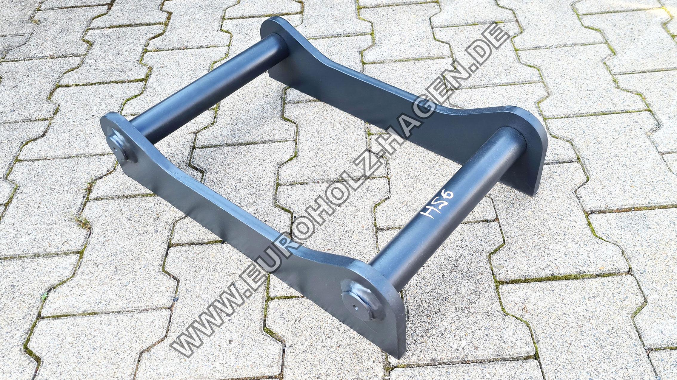 Anschweißrahmen passend für Easy Lock HS6 Adapter Schnellwechsler Adapterrahmen Adapterplatte adapter