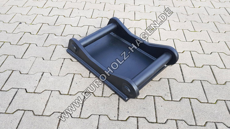 Anschweißrahmen passend für Volvo S60 Adapter Schnellwechsler Adapterrahmen Adapterplatte adapter