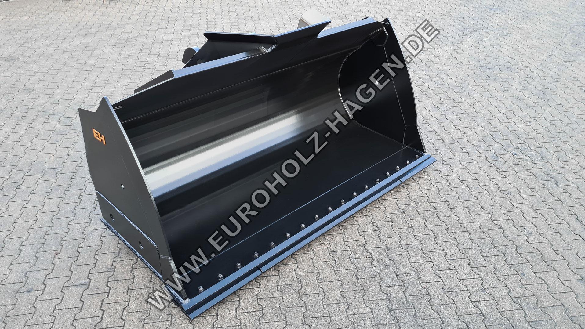 Frontschaufel mit Fusion Schnellwechsler 2,5 cbm mit wendbarem Unterschraubmesser